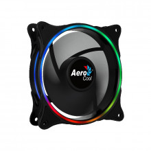 Ventilator Aerocool Eclipse 12 ARGB, 120mm, Iluminare LED RGB