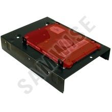 Adaptor Inter-Tech HDD sau SSD 3.5 inch la 2 x 2.5 inch, BLACK AC-2HDD