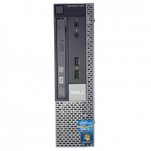 Calculator Dell 790 USFF, Intel Core i5 2400s 2.5GHz, 4GB DDR3, 320GB, DVD-RW
