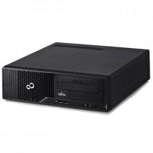 Calculator Fujitsu ESPRIMO E500 85+ SFF, Intel Core i3 2120 3.3GHz, 4GB DDR3, SSD 128GB, 500GB, DVD-RW