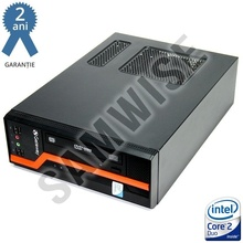 Calculator GATEWAY DS10G SFF, Intel Core 2 Duo E8400 3GHz, 4GB DDR3, 160GB, Video Intel GMA X4500 DVI, DVD-ROM