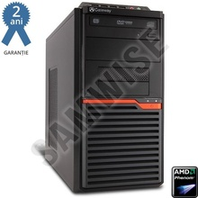 Calculator GATEWAY DT55, AMD Phenom II X3 B75 3GHz, 4GB DDR3, 500GB, ATI HD4250 VGA DVI, DVD-RW