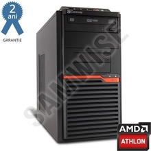 Calculator incomplet GATEWAY DT55, cu procesor AMD Athlon II X2 250 3GHz, sursa Delta 300W, DVD-RW