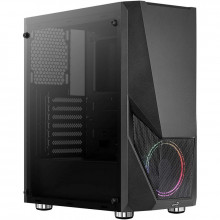 Carcasa Gaming Aerocool Zauron, MiddleTower, USB 3.0, Panou transparent