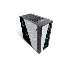 Carcasa Gaming Inaza Black Ship, USB 3.0, 4x 120 mm RGB Led, Panou transparent
