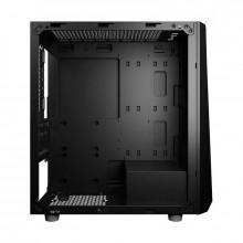 Carcasa Gaming Prime V Black 600W, MiniTower, Plexiglass, USB 3.0, Sursa 600W
