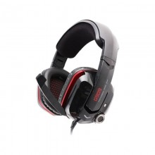 Casti Gaming Somic G909 Black, Sunet surround 7.1, Cu vibratii, USB, Difuzoare 40mm, Impedanta 32 Ohm