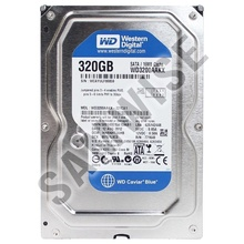 Hard disk 320GB Western Digital Blue WD3200AAKX, Buffer 16MB SATA-III 7200rpm