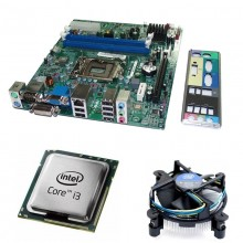 Kit Placa de baza Acer H61H2-AD, DDR3, Intel Core i3-3220 3.3GHz, 2 nuclee, Cooler Intel Stock