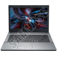 Laptop Incomplet Clevo W550SU1, Intel Core i3-4100M 2.5GHz, 14 inch, DVD-RW, WEB CAM, USB 3.0, Baterie 2 ore