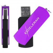 Memorie externa Exceleram P2 32GB, USB 3.1 Gen 1, Negru-Mov
