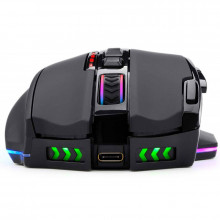 Mouse Gaming Redragon Sniper Pro RGB wireless / cu fir, 16000 dpi, 9 butoane, Iluminare LED