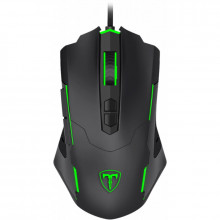 Mouse Gaming T-Dagger Brigadier, Optic, 7200 dpi, 7 butoane, Iluminare RGB
