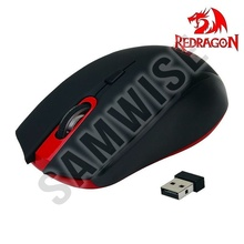Mouse Redragon M651, Gaming, Wireless, 2000 dpi, Negru