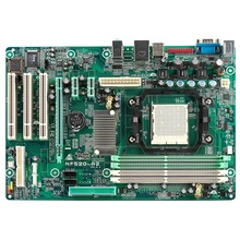 Placa de baza BIOSTAR NF520-A2, Socket AM2, 4 x DDR2, SATA2, PCI-Express x16