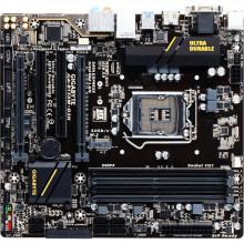 Placa de baza GIGABYTE GA-B150M-D3H, LGA 1151, 6th gen, 4x DDR4, 6x SATA III, 4x USB 3.0, PCI Express 3.0 x16