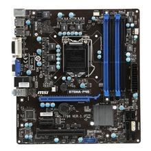 Placa de baza MSI B75MA-P45 Socket 1155, DDR3, USB3.0, SATA3, Suport Intel GEN II si III