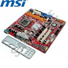 Placa de baza MSI MS-7293 VIA PT890, LGA775, DDR2, PCI-Express, SATA, micro-ATX