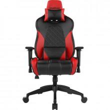 Scaun Gaming Gamdias Achilles E1 L Iluminare RGB negru-rosu, SH