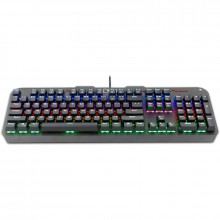 Tastatura Gaming Redragon Varuna Mecanica, Iluminare LED RGB, switch-uri outemu red, SH