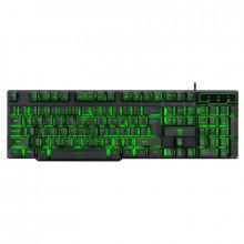 Tastatura gaming T-Dagger Liner, iluminare LED, 12 taste multimedia
