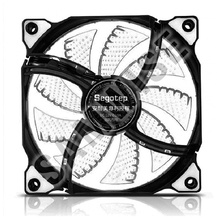 Ventilator Segotep Polar Wind 120 White LED, 1100 RPM,  Conector 3-pin