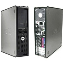 Calculator DELL Optiplex 745 DT, Video GMA3000, PCI-Express, SATA 2, DVD-ROM