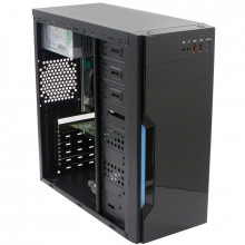 Calculator Gaming Inter-Tech B42, Intel Core i3 4160 3.6GHz, Acer H81H3-AD, 8GB DDR3, 250GB, ATI R5 340X 2GB DDR3, DVI, 300W