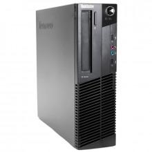 Calculator Lenovo M81 SFF, Intel DualCore G860 3GHz, 4GB DDR3, 250GB, DVD-RW