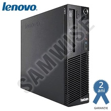 Calculator Lenovo M82 SFF, Intel Pentium G620 2.6GHz, 4GB DDR3, 80GB, DVD-RW