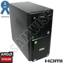 Calculator Stone MT AMD Athlon II X2 B24 3GHz, 4GB DDR2, 160GB, nVidia GeForce 9200 VGA HDMI, DVD-ROM
