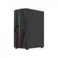 Carcasa Gaming Aerocool Mecha ARGB, MiddleTower, 2x USB 3.0, Panou transparent