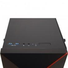 Carcasa Gaming Inaza Vengeance Black-Red, USB 3.0, 3x Vent. 120mm, Desigilat