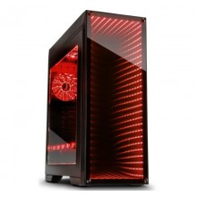 Carcasa Gaming Inter-Tech M-908, USB 3.0, Vent. incluse 3x 120mm LED RGB, Panou transparent