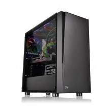 Carcasa Gaming Thermaltake Versa J21 Tempered Glass, USB 3.0, Panou transparent, MiddleTower, Vent. 120mm