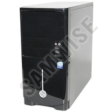 Carcasa Miditower Black M1, suport, micro-ATX si mini-ITX, 2 x USB 2.0