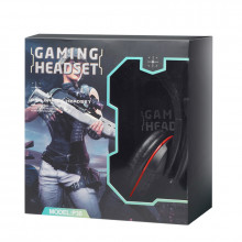 Casti Gaming DeTech X2030 cu microfon, Difuzoare 40 mm, 1.2m