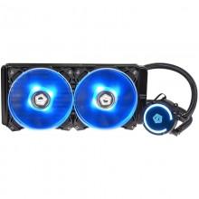Cooler CPU ID-Cooling Auraflow 240, Racire cu lichid, 2x Vent 120mm, Iluminare LED RGB