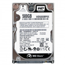 Hard Disk Laptop 500GB WD Black WD5000BPKX, SATA-III, 7200RPM, Cache 16MB