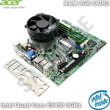 KIT Placa de baza Acer G43D01G1 + Procesor Intel Quad Core E5450 3GHz + RAM 8GB DDR3 + Cooler Procesor