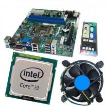 Kit Placa de baza Acer H61H2-AD, DDR3, Intel Core i3 3220 3.3GHz, 2 nuclee, Cooler inclus