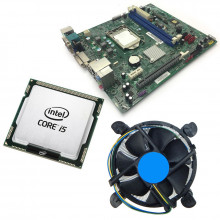 Kit Placa de baza Acer H81H3-AD, 4th gen, DDR3, Intel Core i5 4460S 2.9GHz, 4 nuclee, Cooler inclus