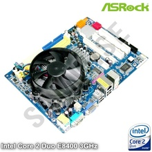 KIT Placa de baza ASRock G31M-GS + Intel Core 2 Duo E8400 3GHz + Cooler Procesor
