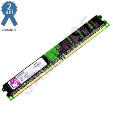 Memorie 1GB Kingston DDR2 800MHz, SLIM, Pentru Desktop