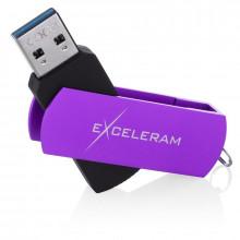 Memorie externa Exceleram P2 64GB, USB 3.1 Gen 1, Negru-Mov
