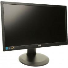 """Monitor LCD AOC 21.5"""" E2260PWDA, 1920x1080, 5ms, DVI, VGA, Cabluri incluse"""
