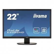 "Monitor LED 21.5"" Iiyama ProLite E2282HD-B1, Grad A, 1920x1080, 5ms, VGA, DVI, Cabluri incluse"