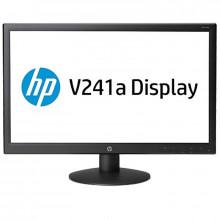 """Monitor LED HP 23.6"""" V241a, Grad A, Full HD, 1920x1080, 5ms, DVI, VGA, Cabluri incluse"""