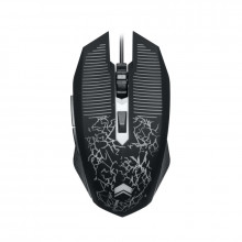 Mouse Gaming ZornWee 6D, Optic, USB, 4800 DPI, 6 butoane, Negru