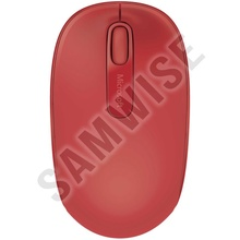 Mouse Microsoft Mobile 1850, Wireless, 1000DPI, Red